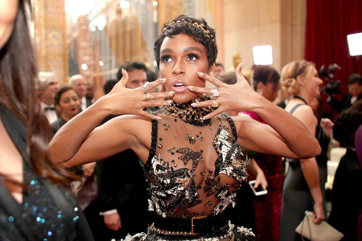 Janelle Monae Not So Subtly Showing Off Her Rings
