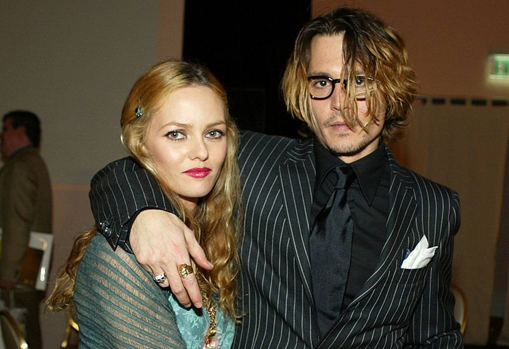 Picture of Johnny Depp and Vanessa Paradis