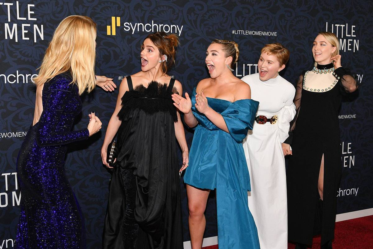 Ladies Of Little Women Excited To See Their On-Screen Mom