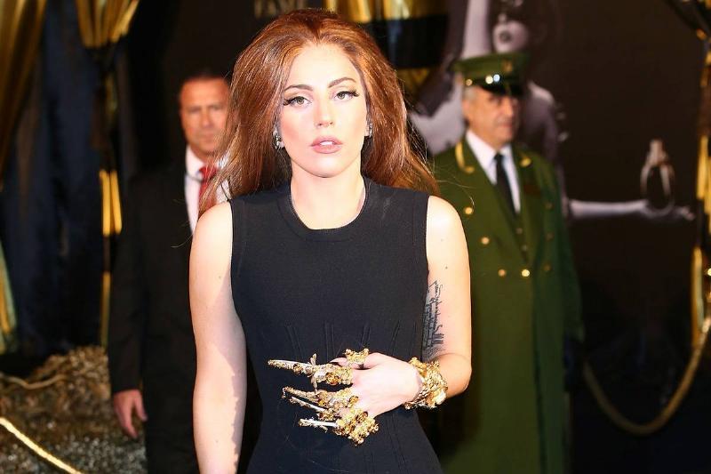 Lady Gaga's Finger Jewelry