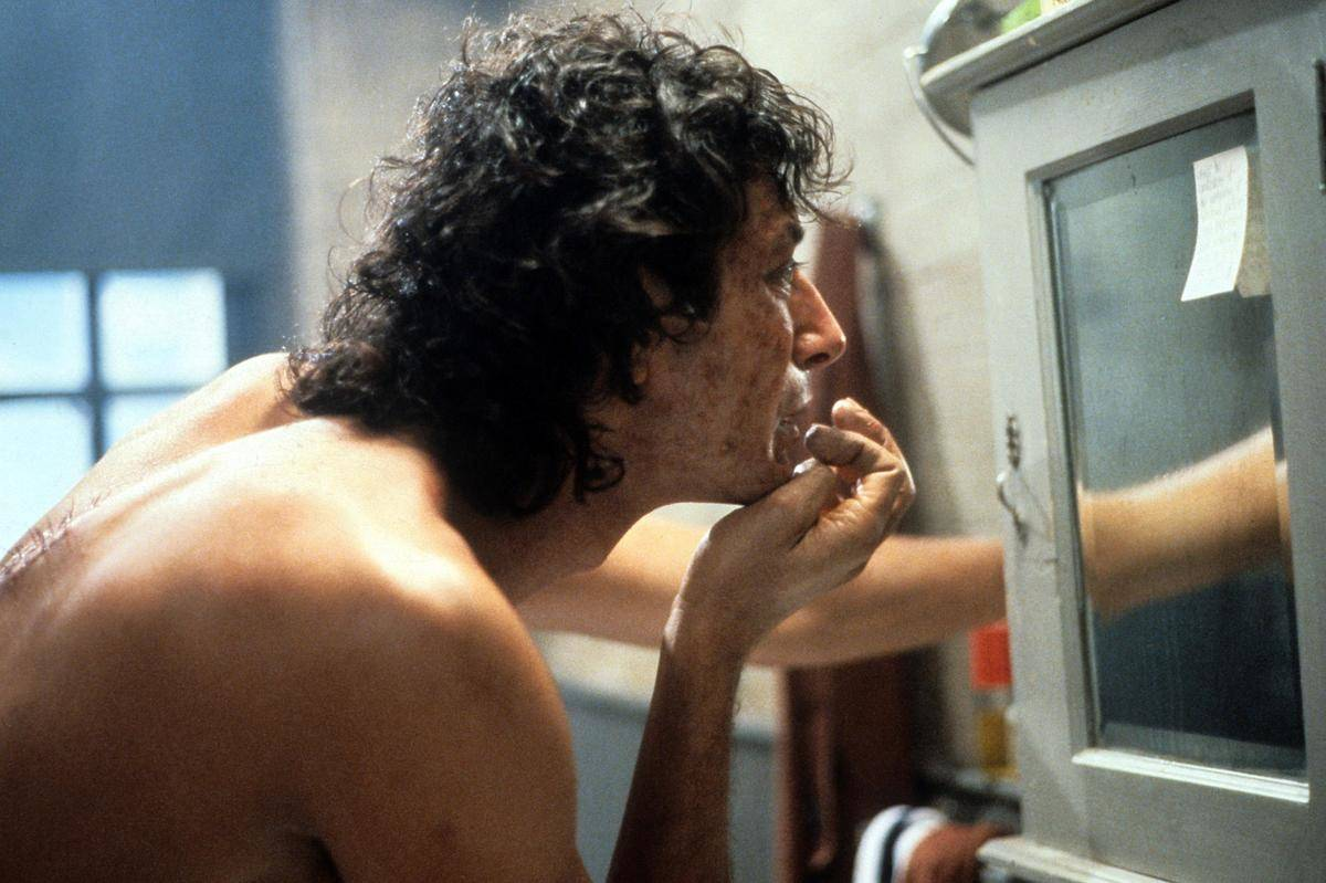 Jeff Goldbloom in The Fly