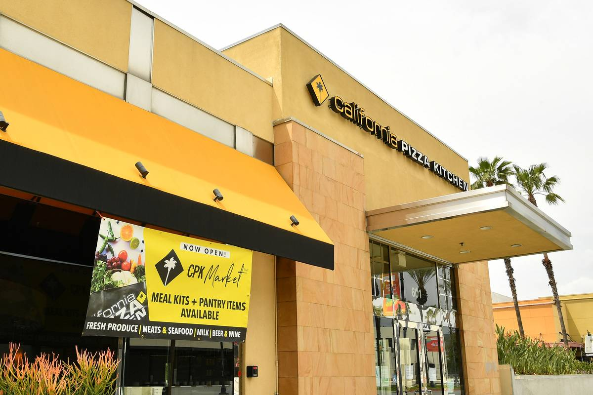 California Pizza Kitchen Closed 46 Of Its 200 Locations