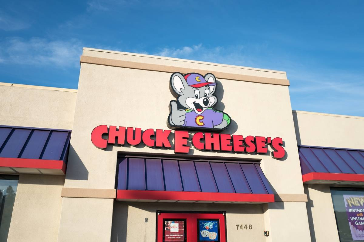 Chuck E. Cheese's Closed 30 Of Its 500 Locations
