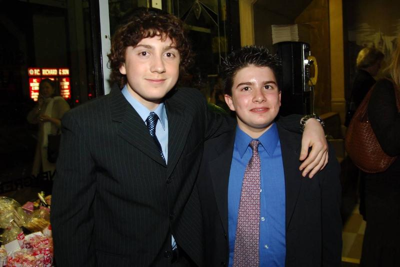 Daryl Sabara And Evan Sabara