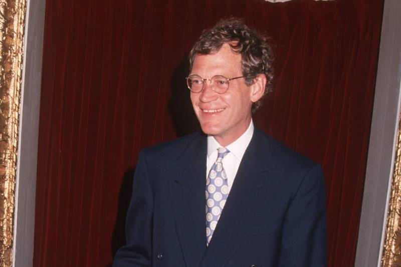 David Letterman Got A Helping Hand