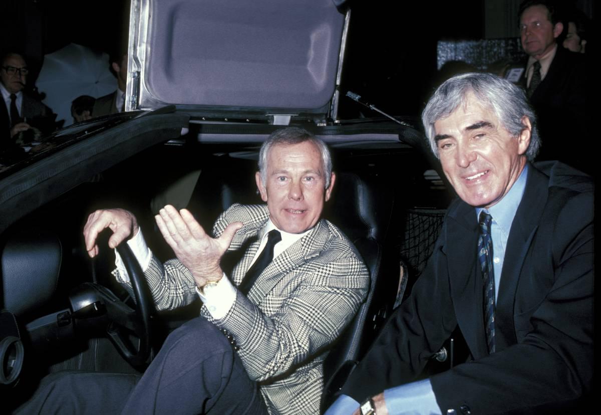 DeLorean Was Carson's Ride Or Die