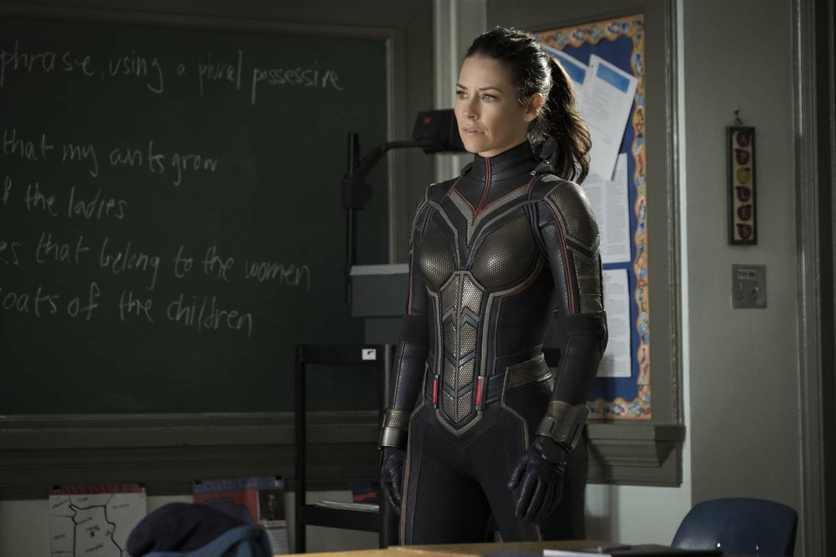 Evangeline Lilly's Suggestive Wasp Suit