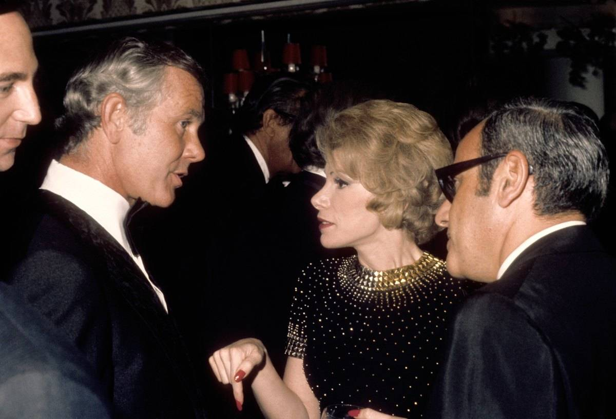 Joan And Johnny Had An Interesting Relationship