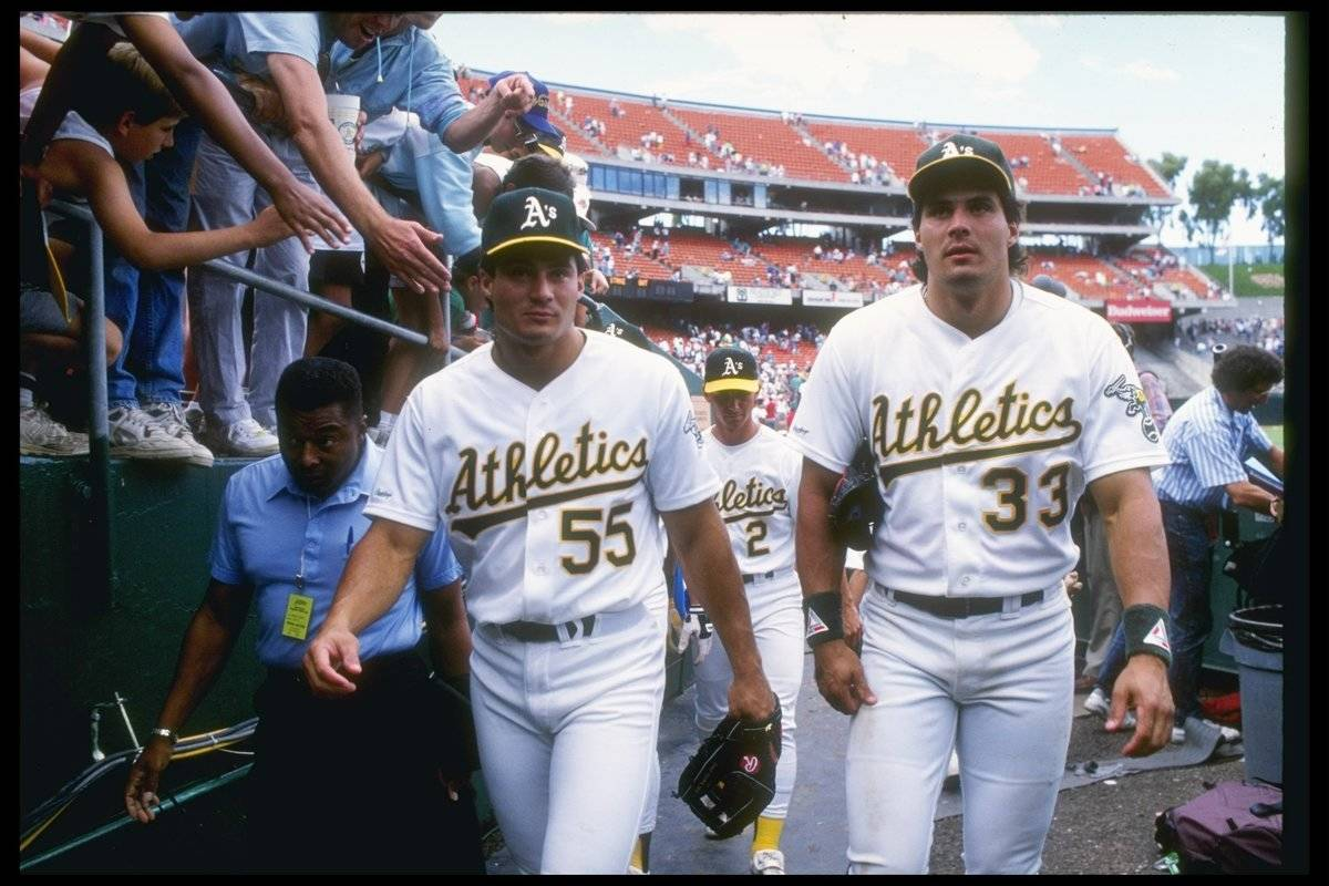 José Canseco And Ozzie Canseco