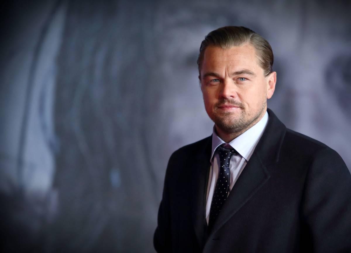 Leonardo DiCaprio attends UK Premiere of