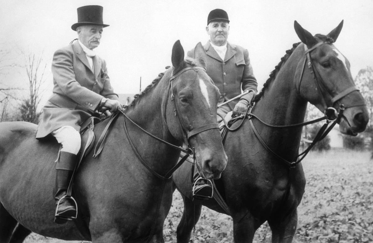 Nobel Prize-Winning Writer William Faulkner On Horsback With Grover Vandevender