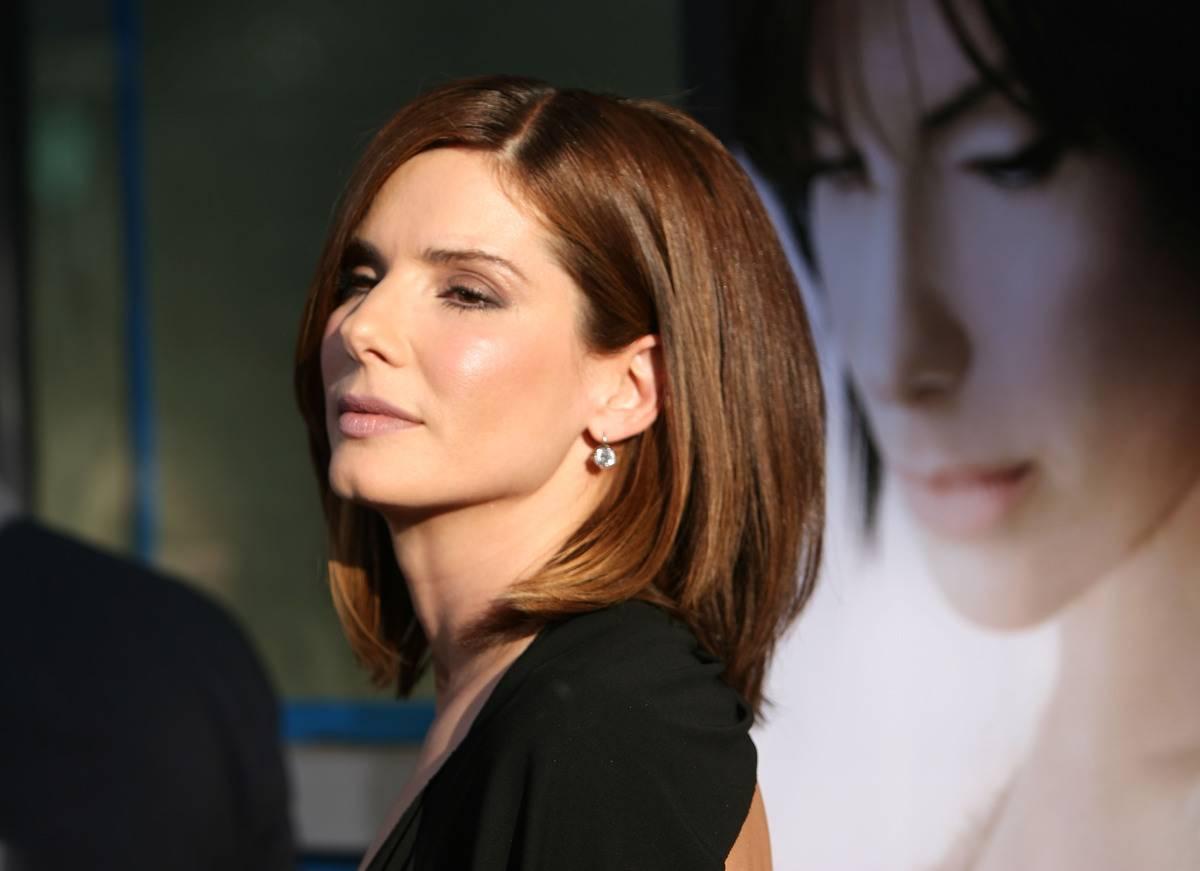 Sandra Bullock attends the premiere of