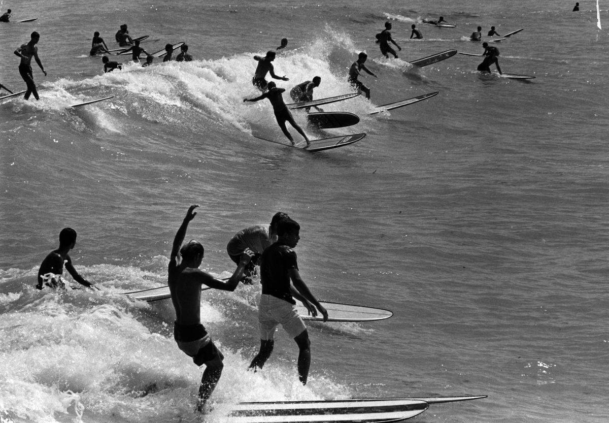 Surfin' On A Party Wave