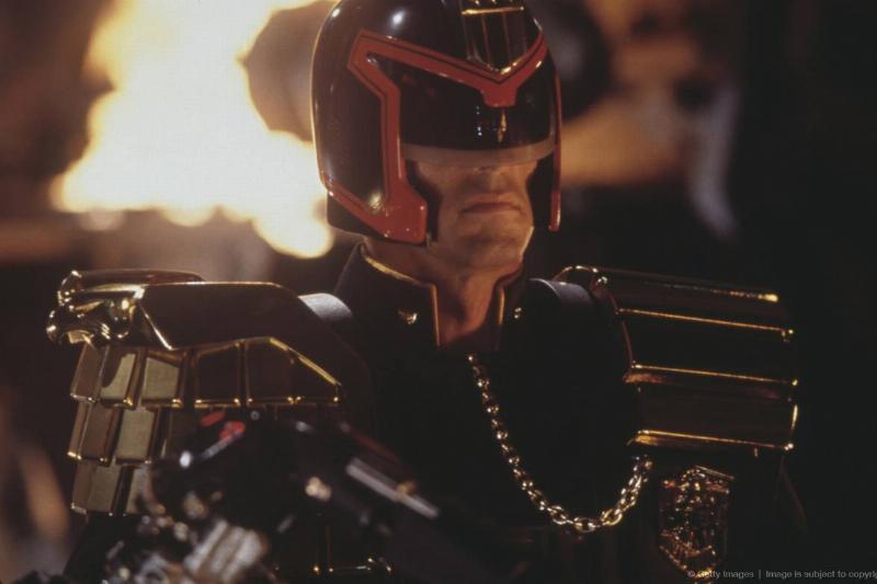 Sylvester Stallone's Judge Dredd Helmet