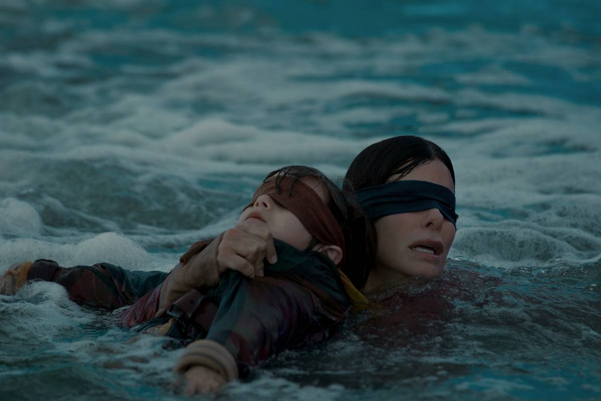 The Blindfolds In Bird Box Were Real