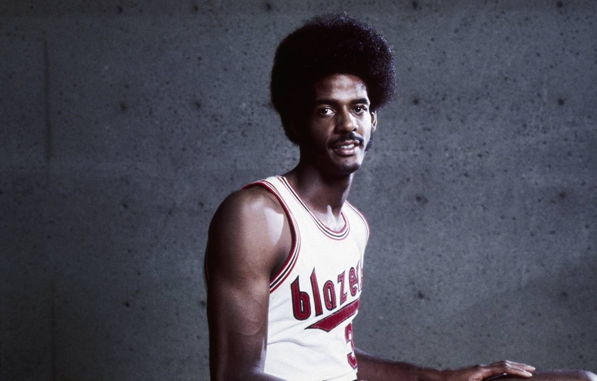 LaRue Martin of the Portland Trailblazers