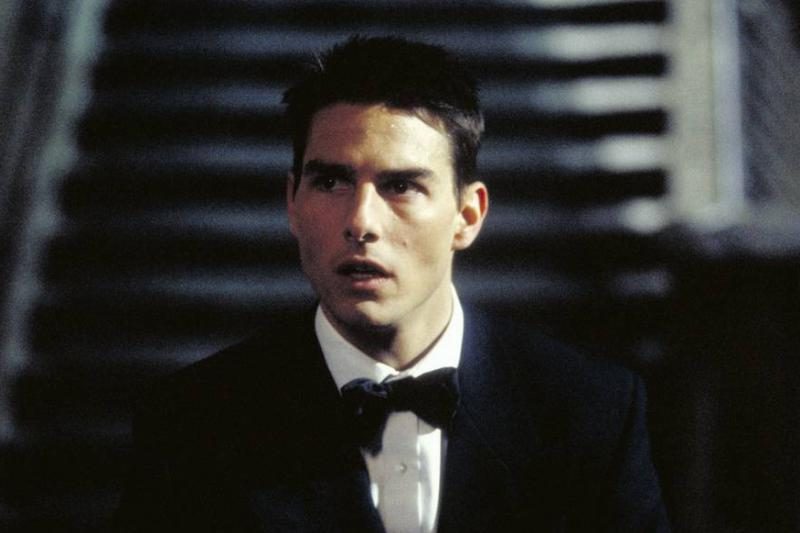Tom Cruise appears in the 1996 film Mission: Impossible.