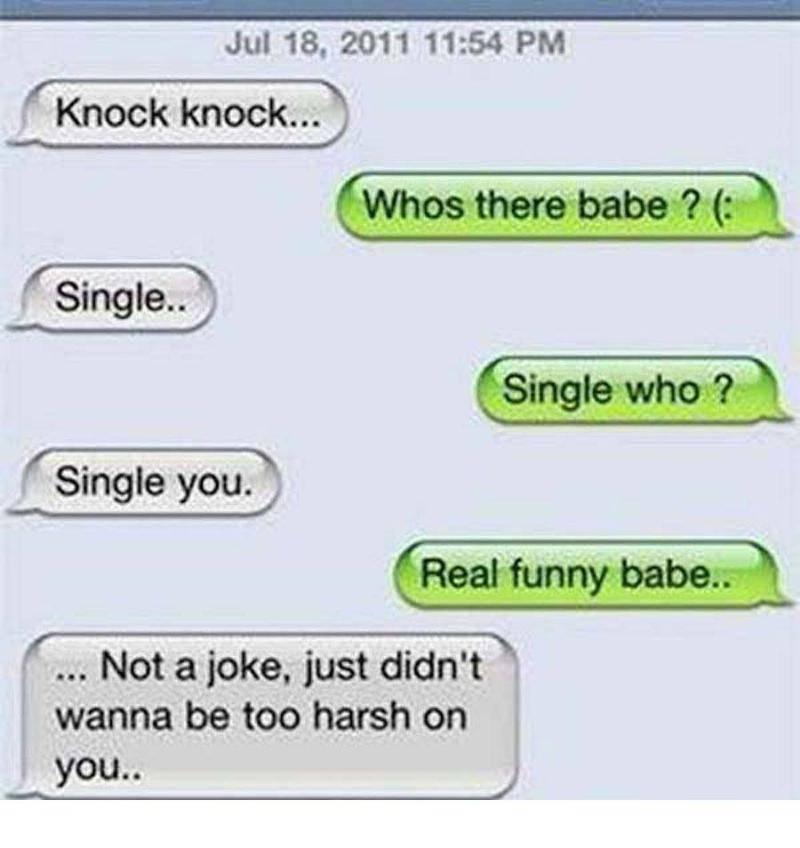 single who knock knock joke