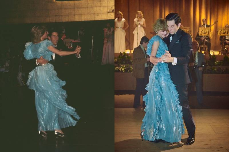 prince charles and princess diana dancing