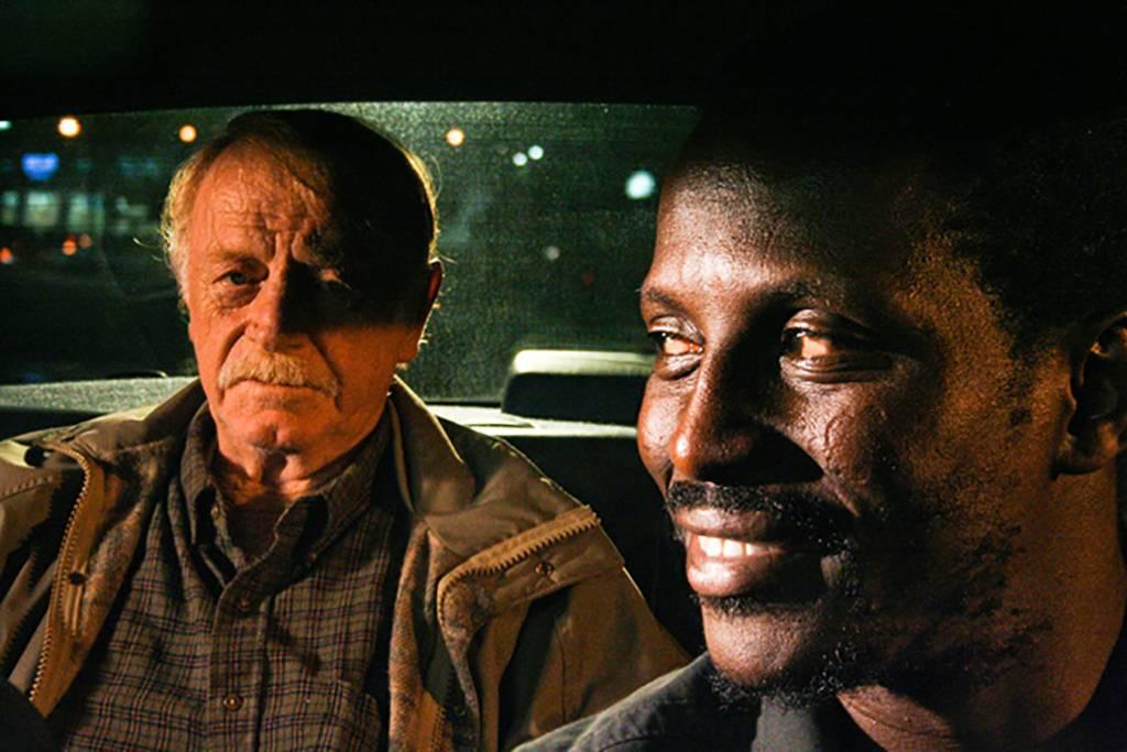 Men in a car