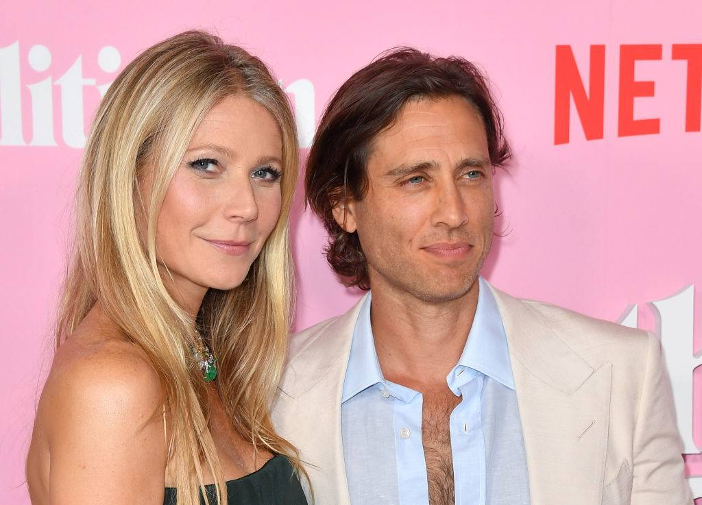 Gwyneth Paltrow and Brad Falchuk posing for a photo in 2019