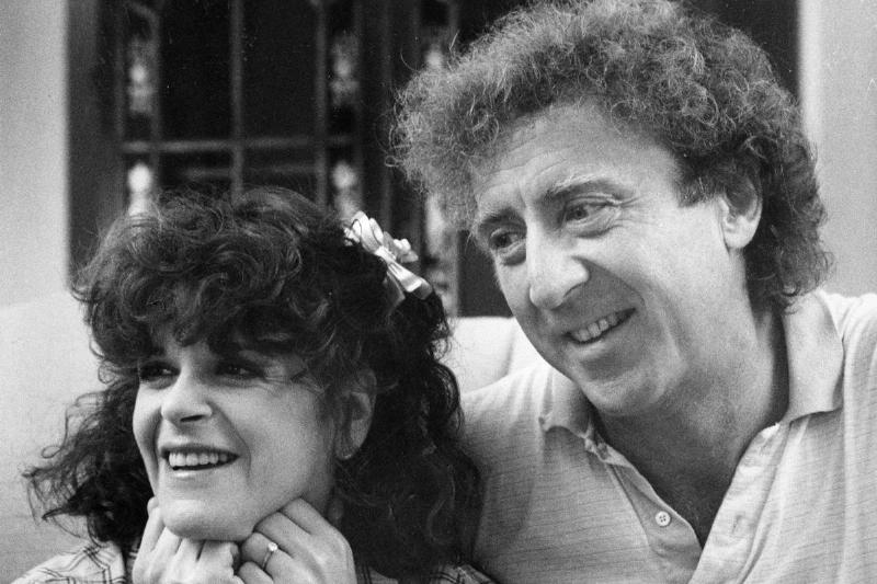 Gene Wilder And his late wife Gilda Radner