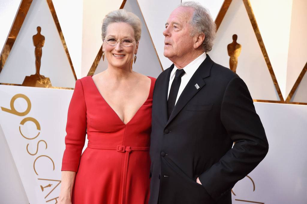 Meryl Streep and Don Gummer at the oscars in 2018