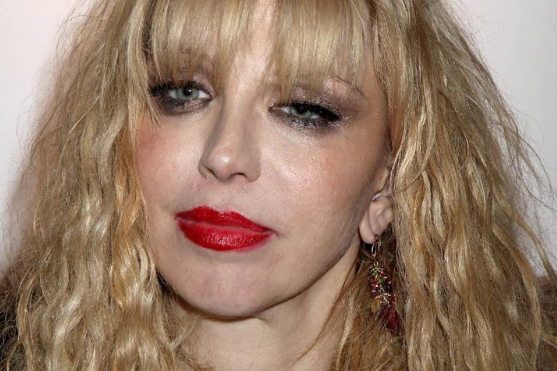 Courtney Love arrives at the Shockwaves NME Awards 2010.