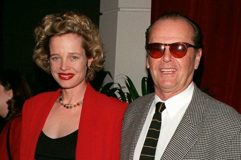 Jack Nicholson, Anjelica Huston, And Rebecca Broussard