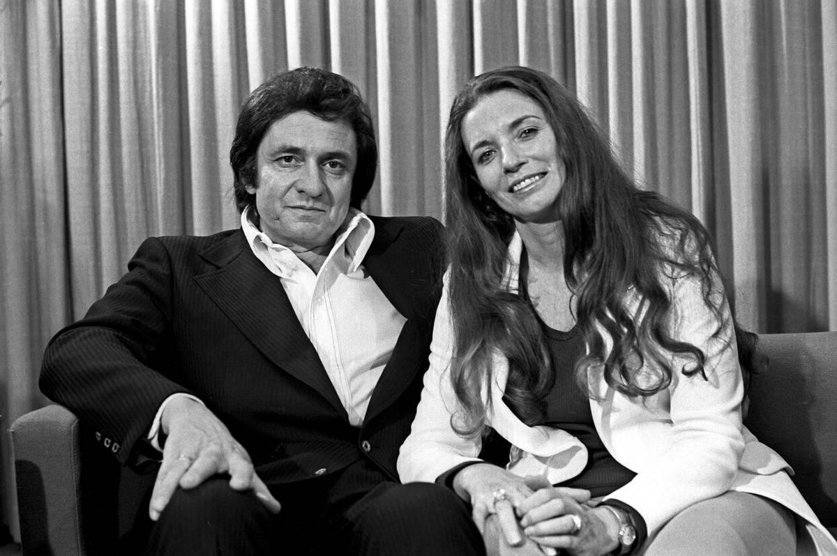 Johnny Cash, Vivian Liberto, And June Carter
