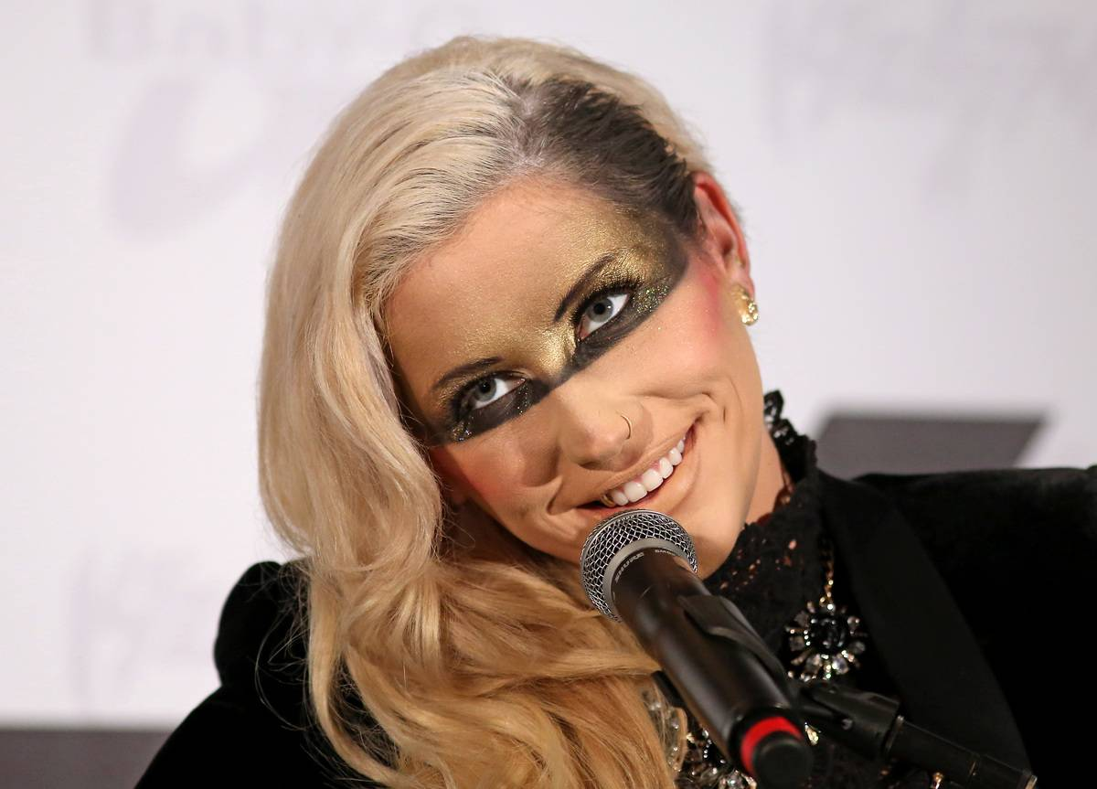 Ke$ha unveils new