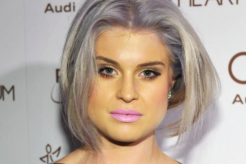 TV Personality Kelly Osbourne arrives at Audi 2012 event.