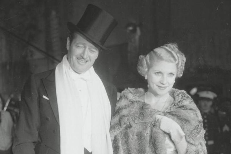 Lilyan Tashman, Edmund Lowe, And Greta Garbo
