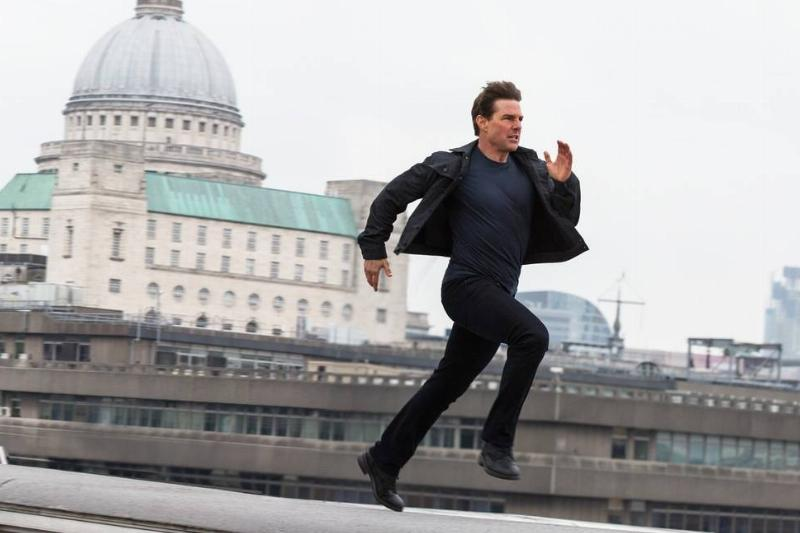 Tom Cruise Broke His Ankle