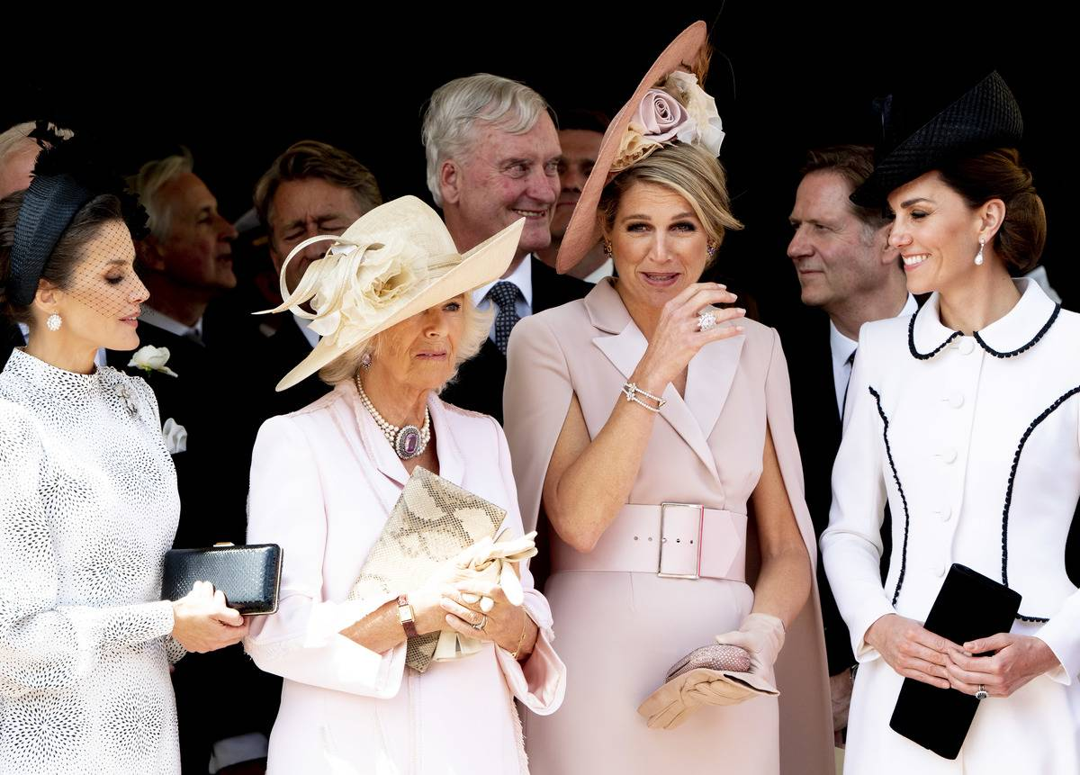 Two Queens And Camilla Still Isn't Giving Kate The Time Of Day