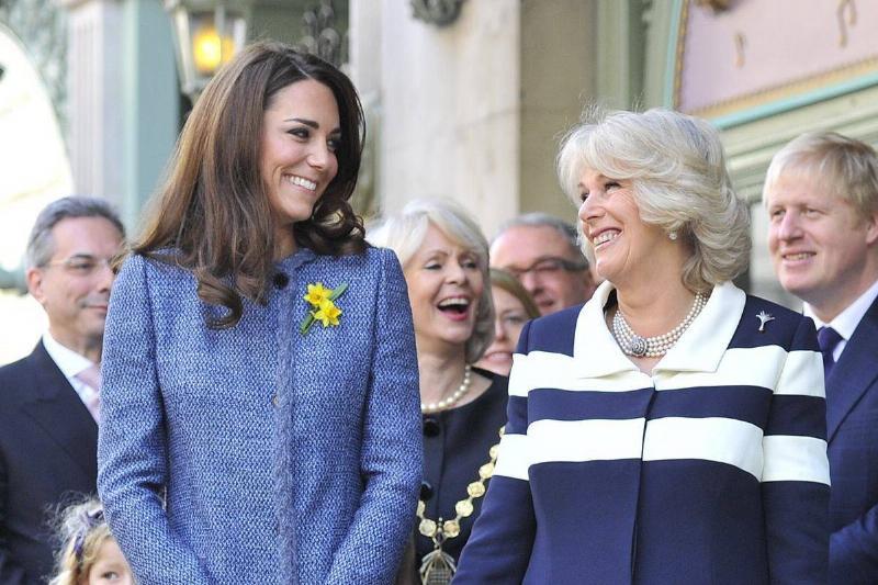 Britain's Camilla, Duchess of Cornwall (