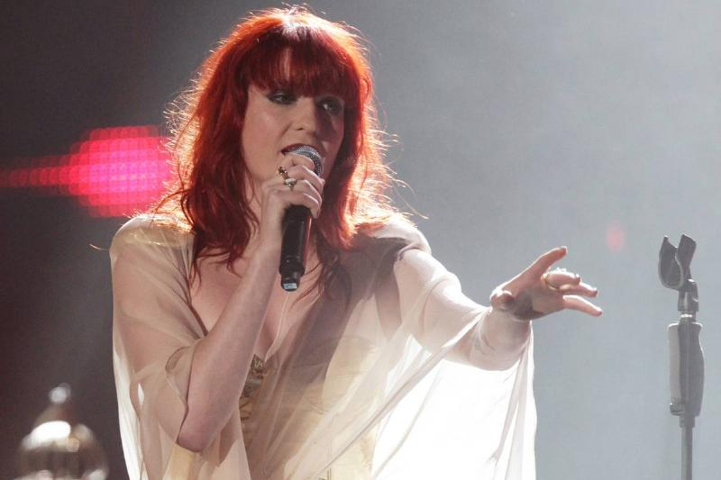 Florence and the Machine performs in London in 2009.
