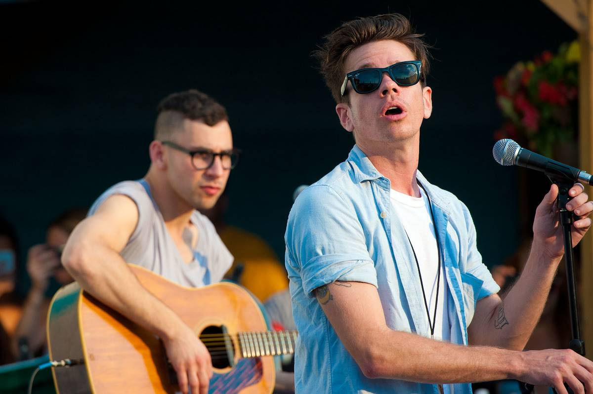 Fun performs in Philadelphia in 2012.