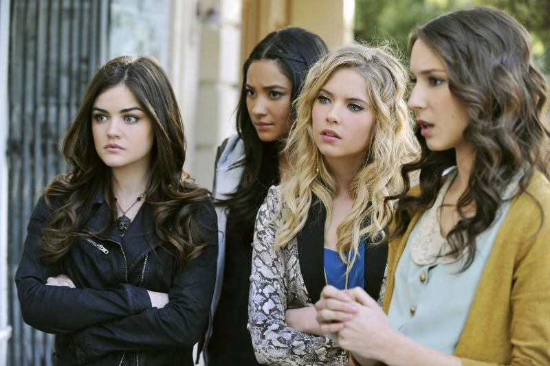 actresses from pretty little liars