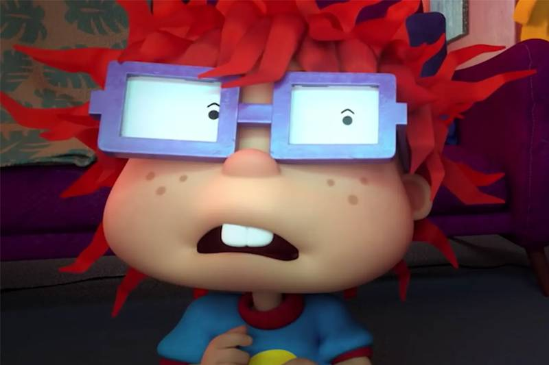 chuckie from rugrats animation still
