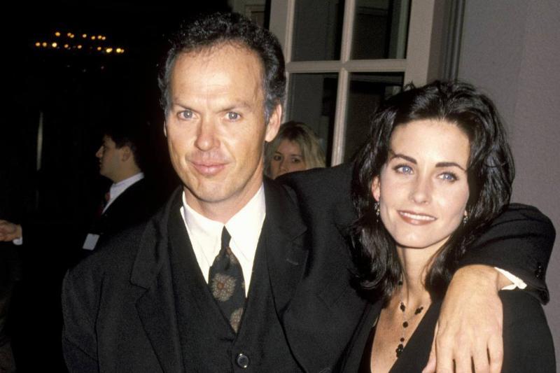 Courteney Cox & Michael Keaton