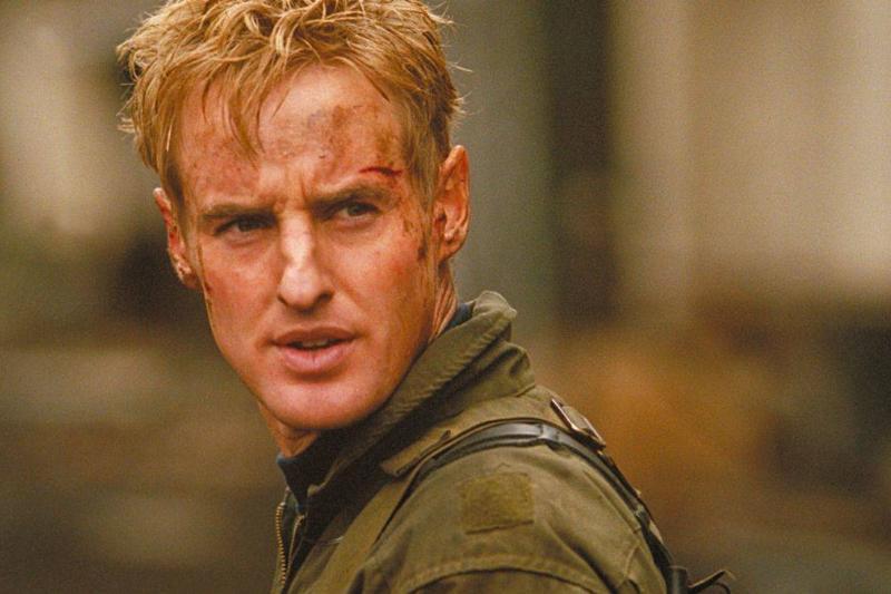 Owen Wilson is seen in the 2011 movie Behind Enemy Lines.