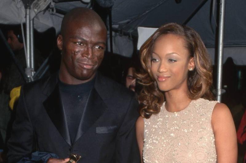 Seal with Girlfriend Tyra Banks