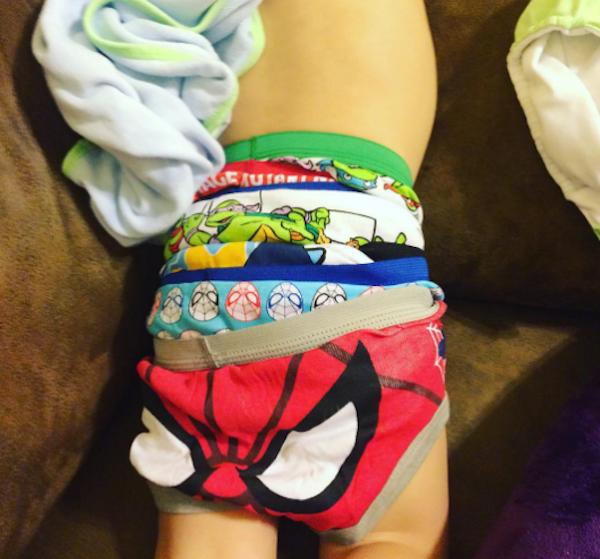 Super Excited Underwear Boy