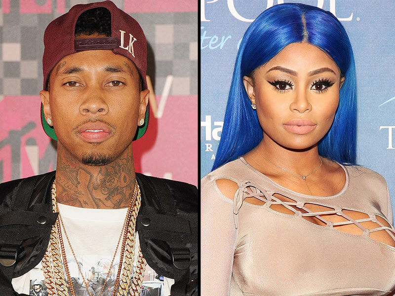 Tyga Snagged Blac Chyna At One Time