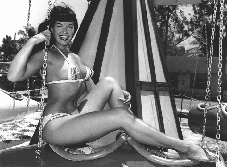 The super hot Bettie Page!