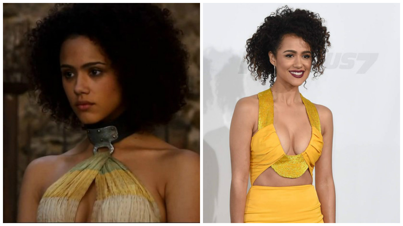 Character: Missandei / Actress: Nathalie Emmanuel