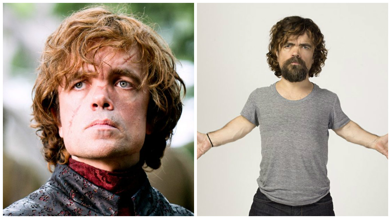 Character: Tyrion Lannister / Actor: Peter Dinklage