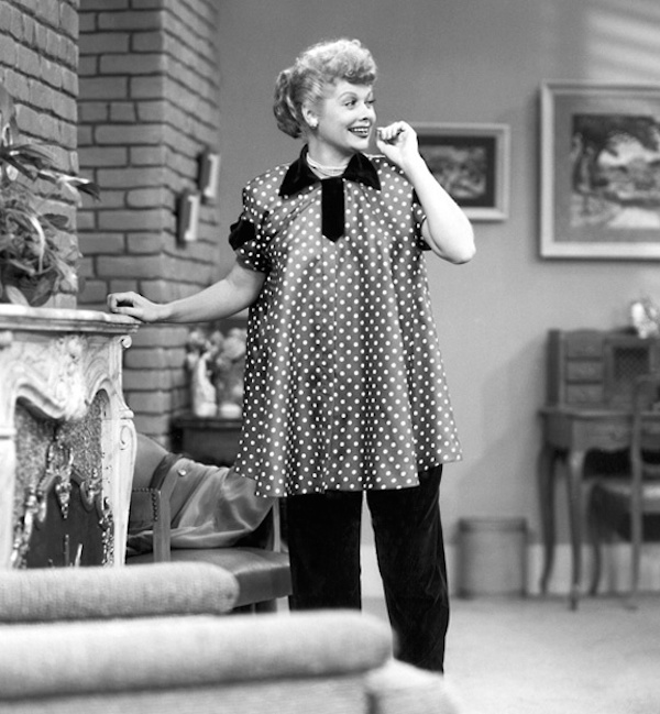 Lucille Ball Was The First Pregnant Woman To Play A Pregnant Woman