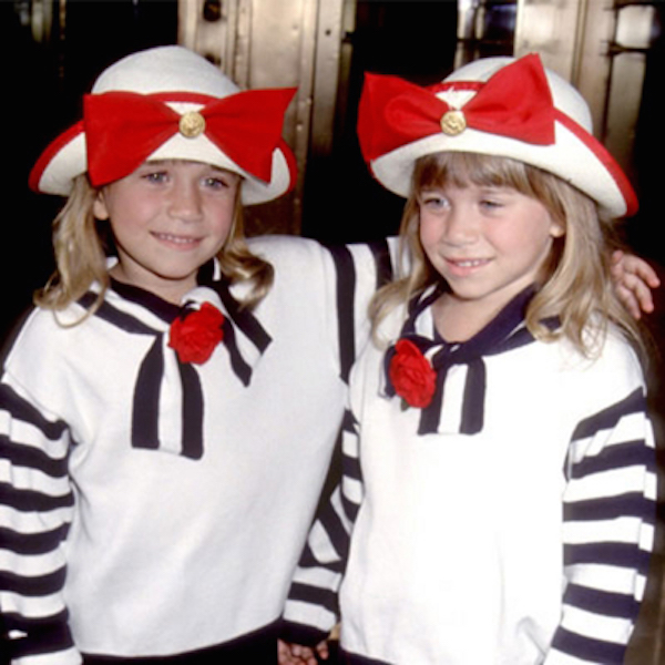 1993 – Age 7: Captains Mary-Kate and Ashley